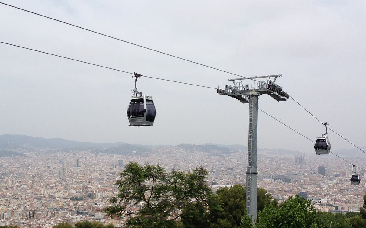Montjuic Cable Car Price