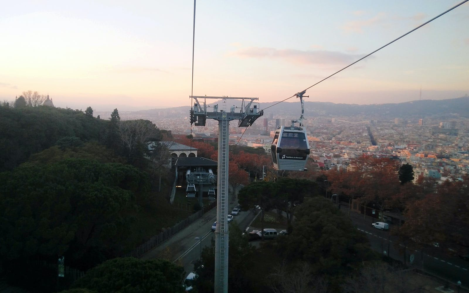 teleferic de montjuic/ montjuic cable car-2