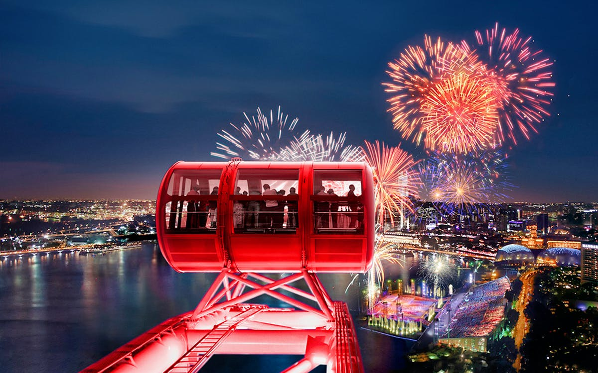 singapore flyer night discovery with river boat tour & 1 day hopper pass-2