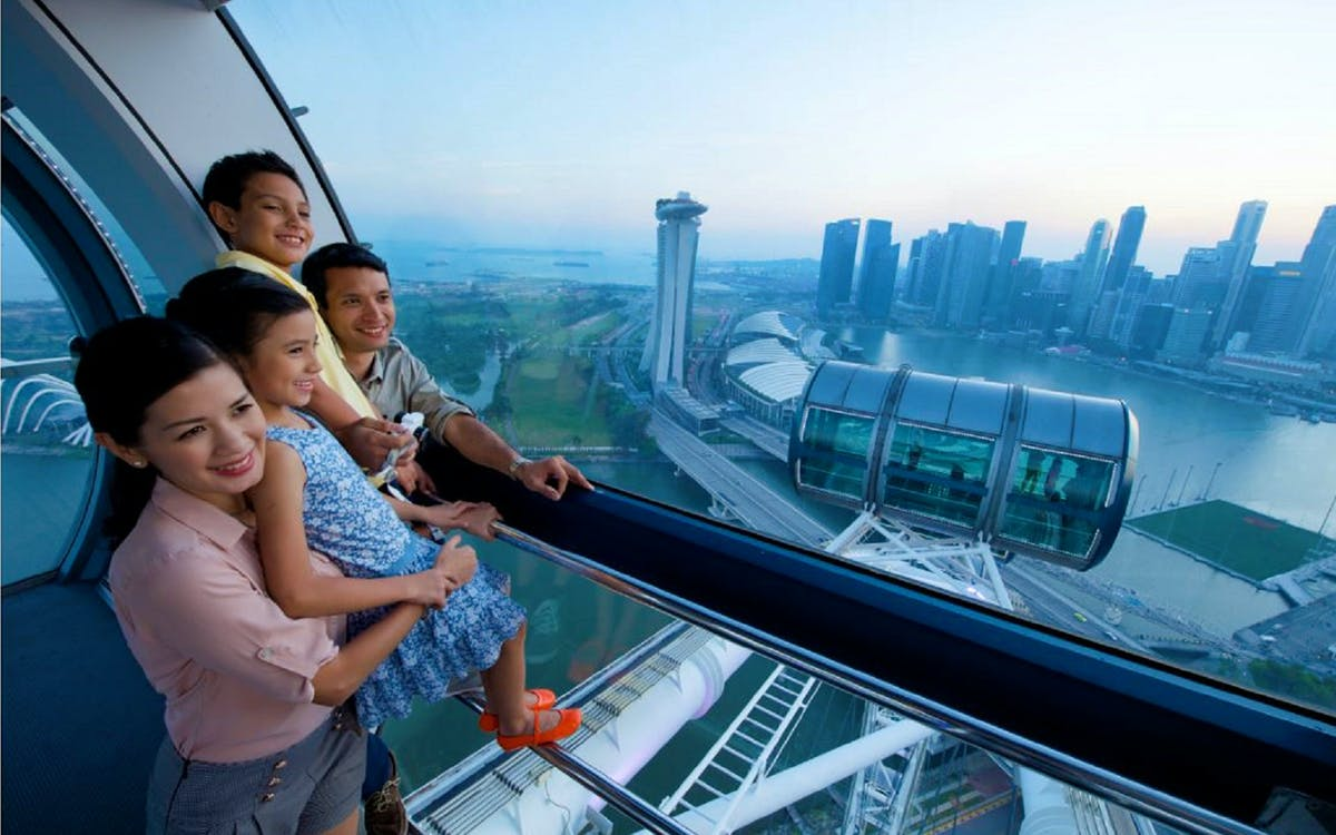 singapore flyer night discovery with river boat tour & 1 day hopper pass-1