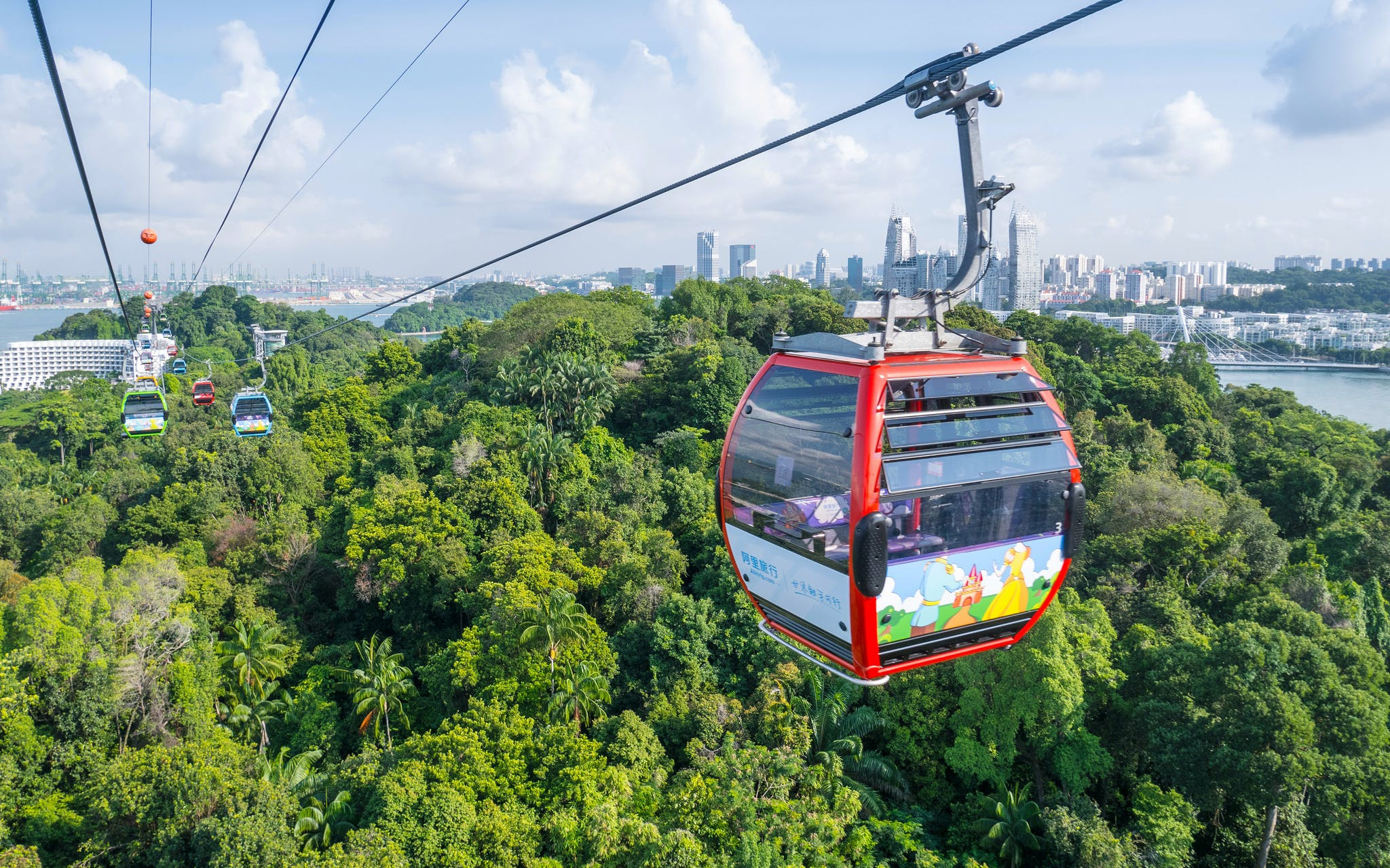 cable car ride round-trip with buffet lunch/dinner-1