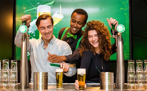 Heineken Experience Tickets with Free Drinks
