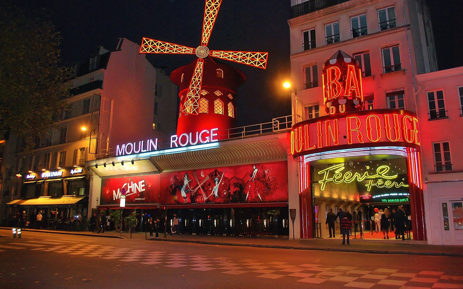 la marina dinner cruise, eiffel tower by night and moulin rouge show + transfers-4