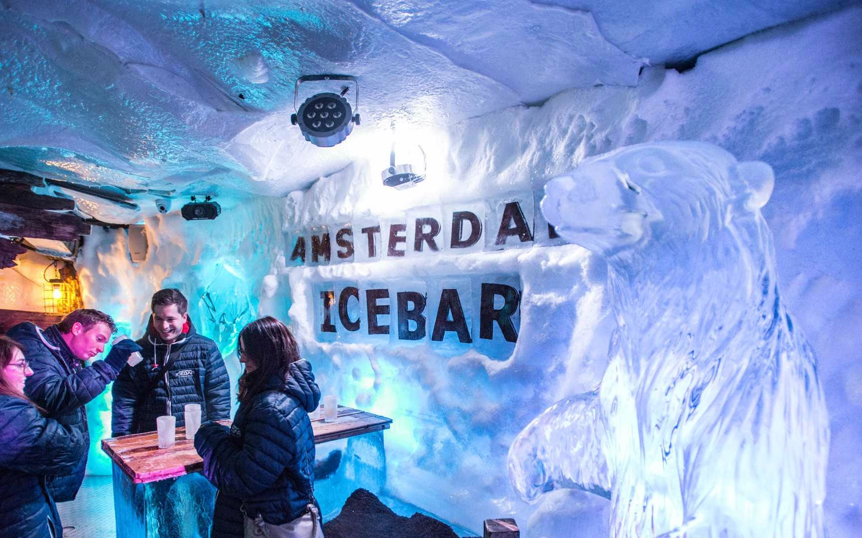 1 day hop-on hop-off sightseeing bus with amsterdam ice bar-2