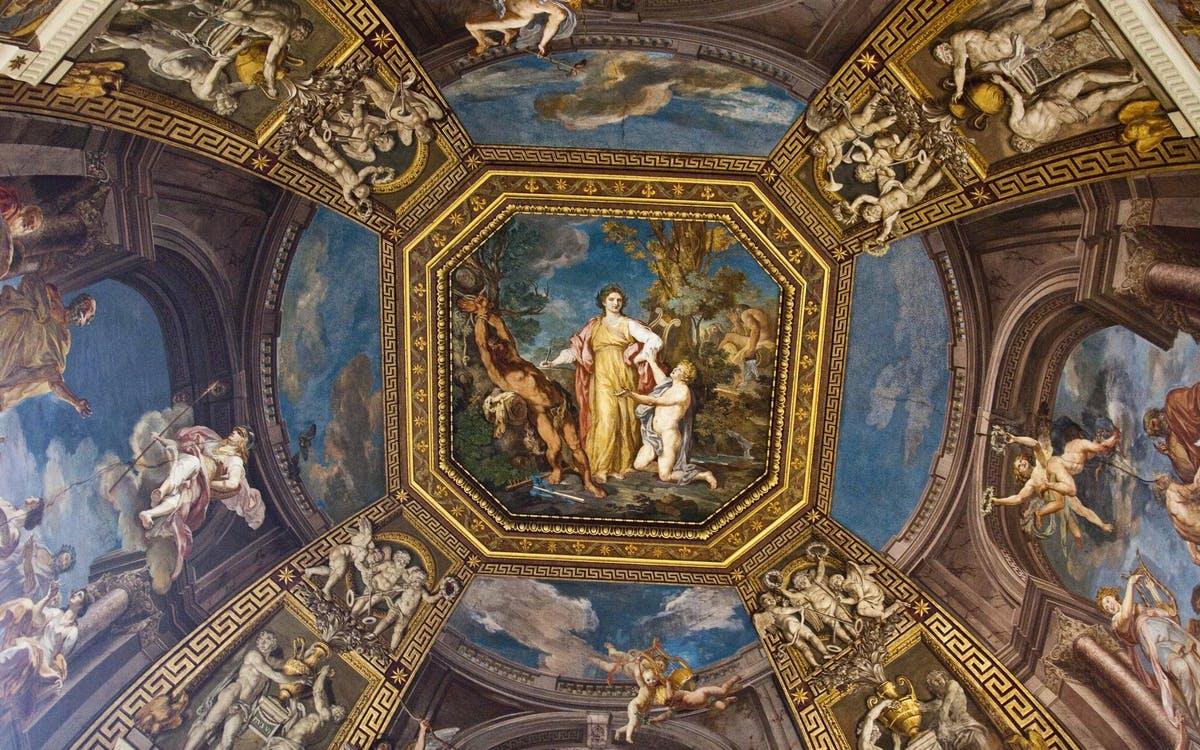 Ticket Coupe File Pour Le Mus 233 E Du Vatican Et La Chapelle border=