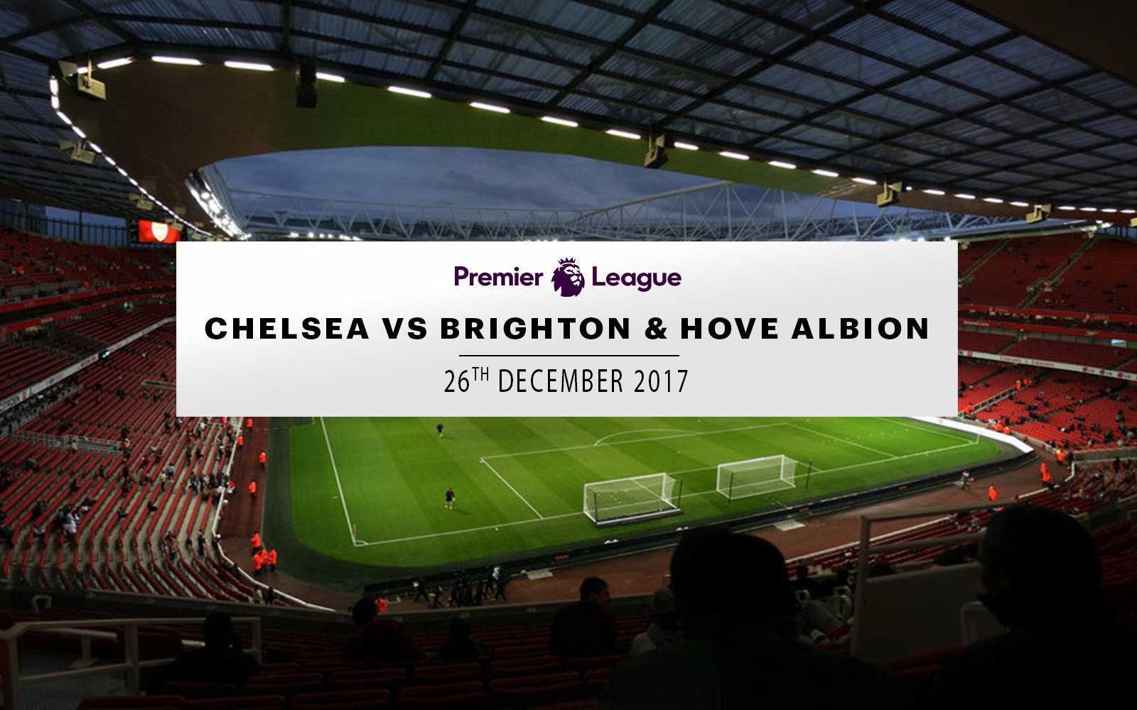 chelsea vs brighton & hove albion - 26th december 2017-1