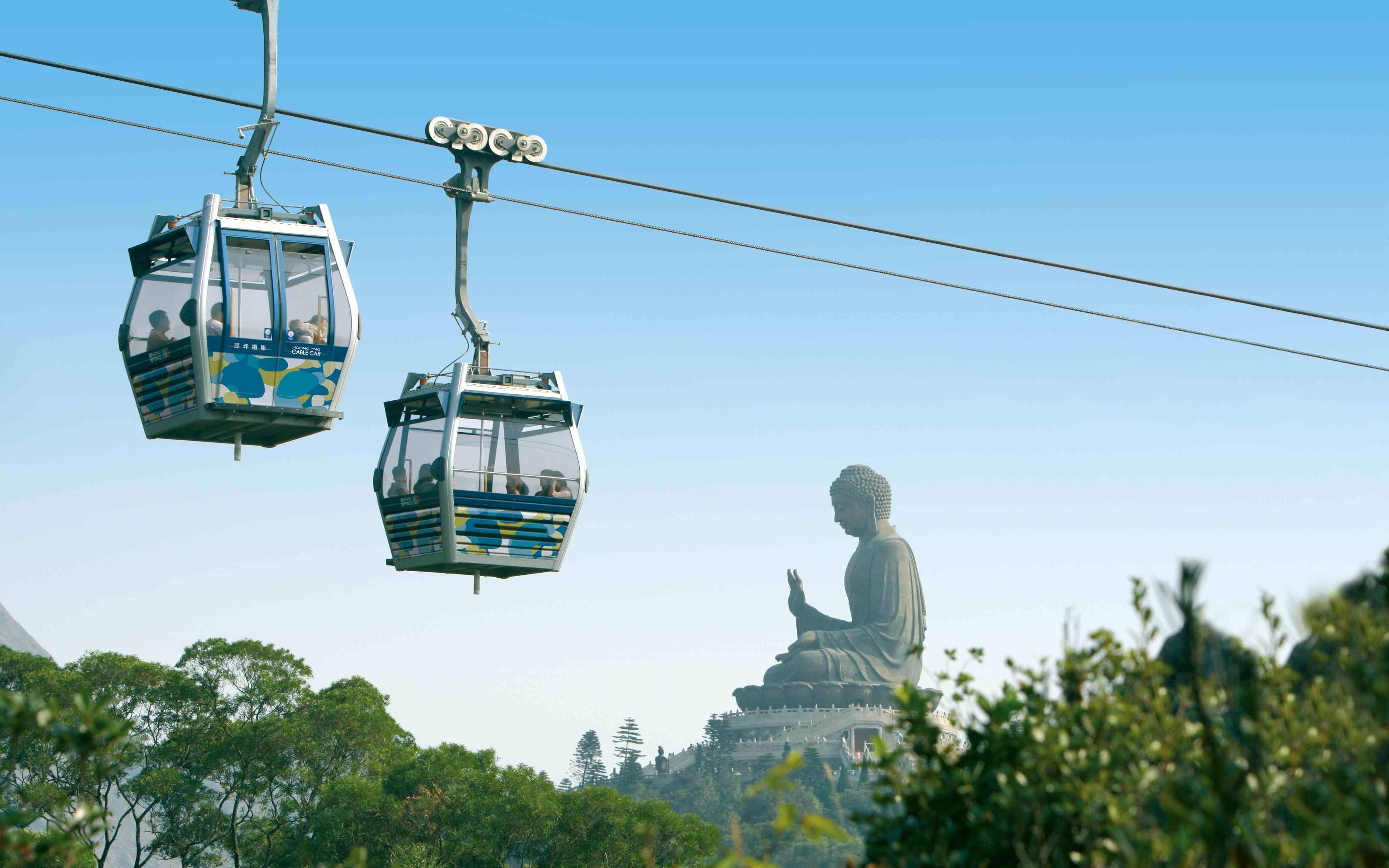 Ngong Ping Cable Car Experience