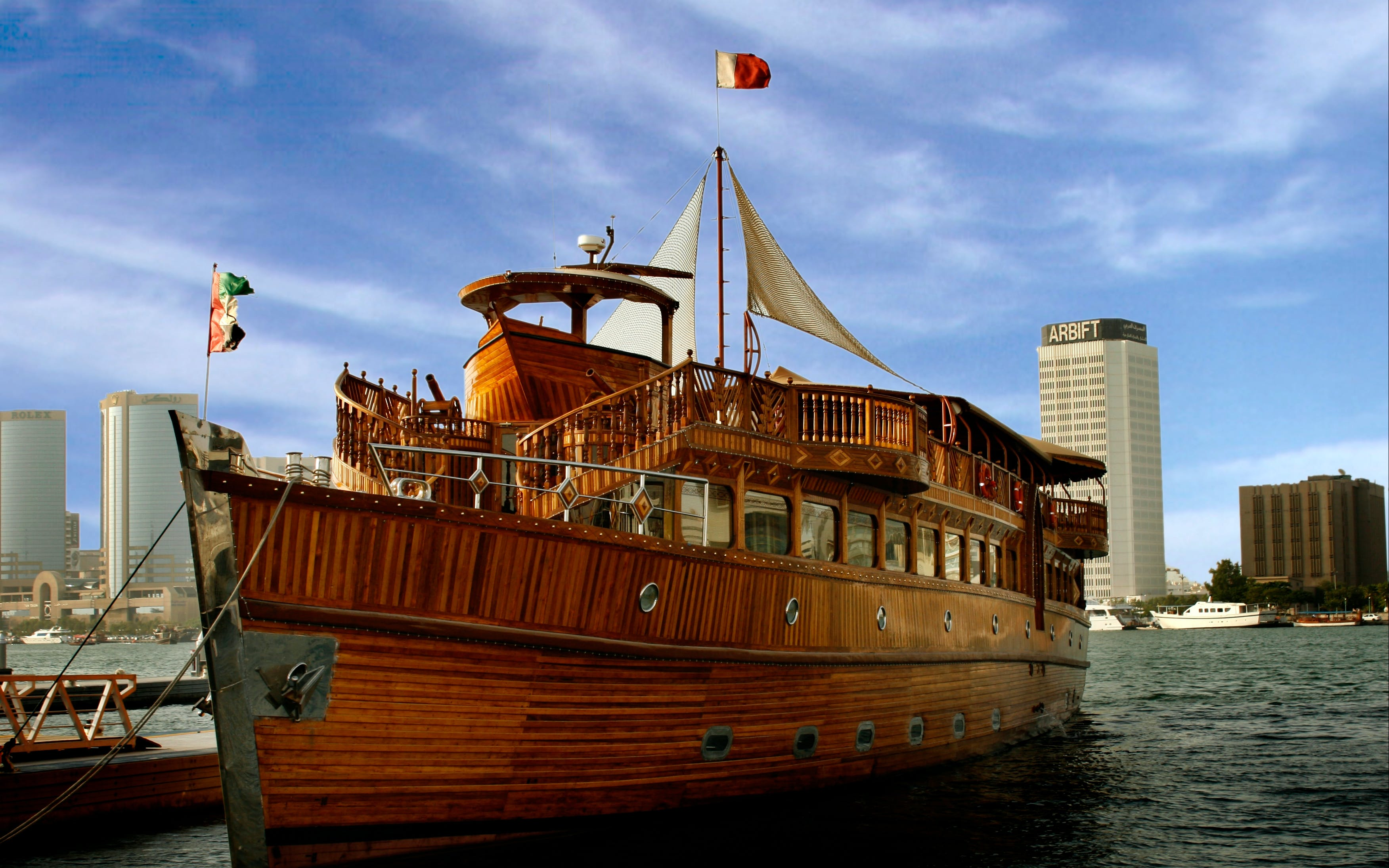 desert safari and dhow cruise-1