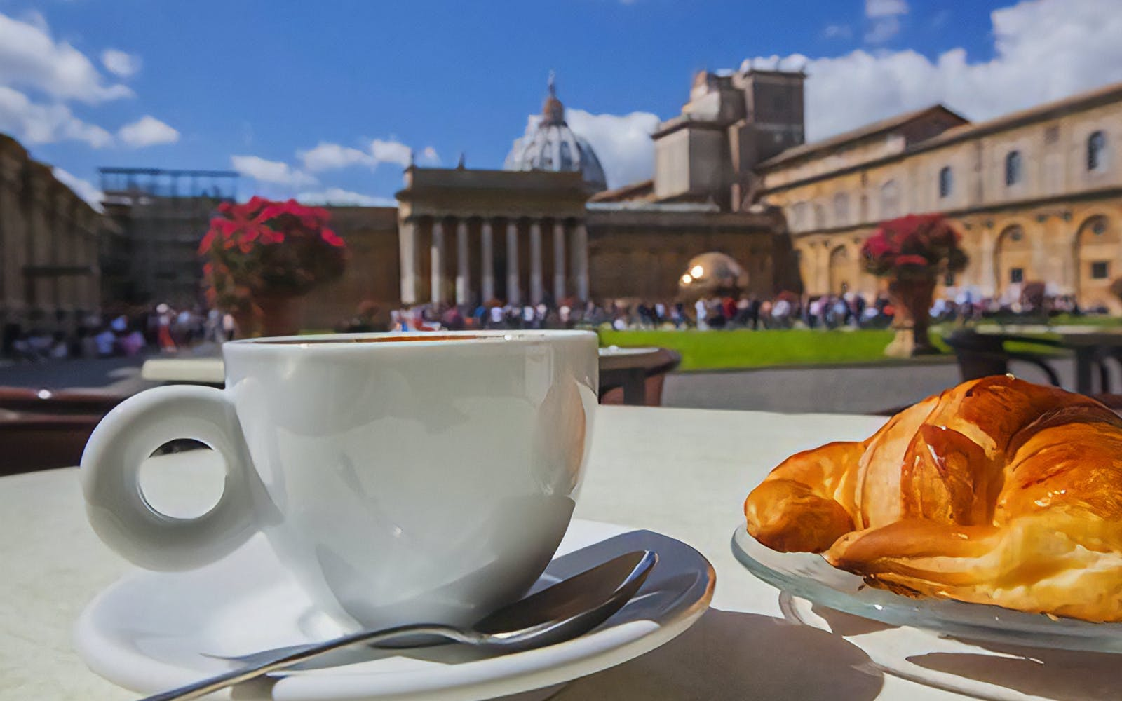 breakfast/lunch at vatican museums with skip the line entrance-4