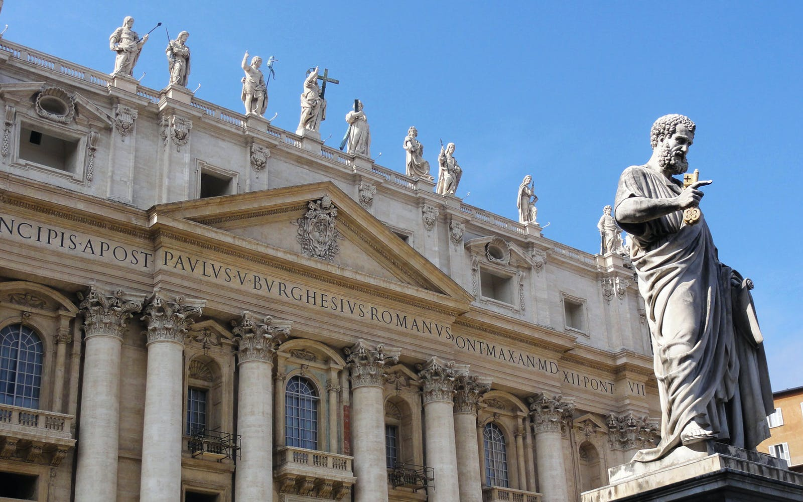 Skip the Line: St. Peter's Basilica with Audioguide