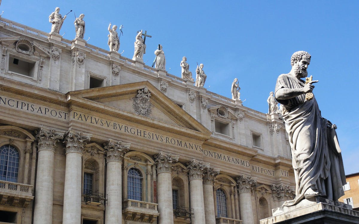 dedicated access: st. peter's basilica self guided audio tour -1