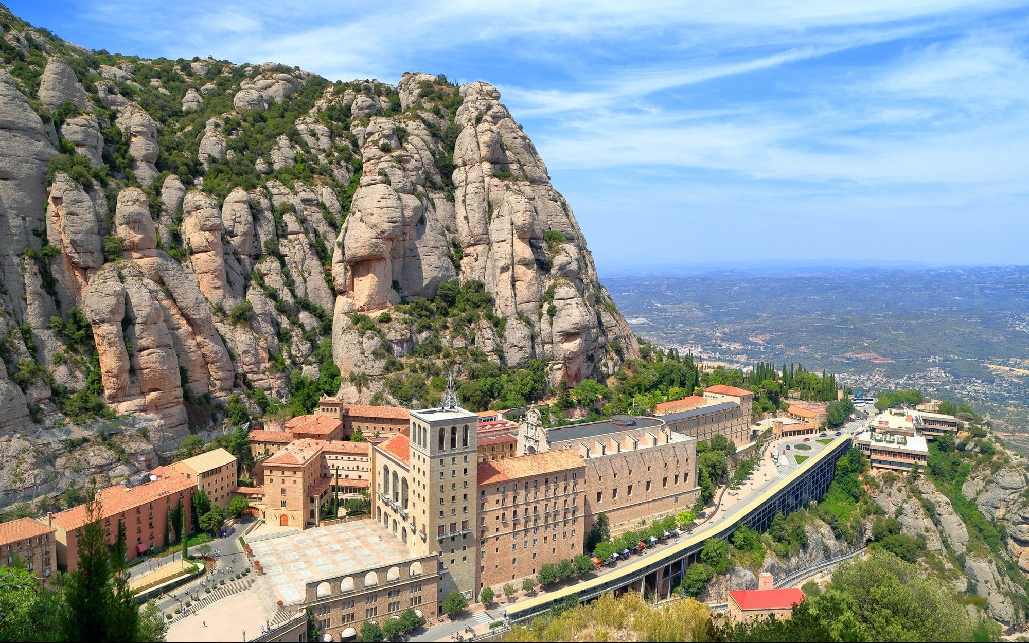 small group: early visit montserrat and santa cecilia church -3