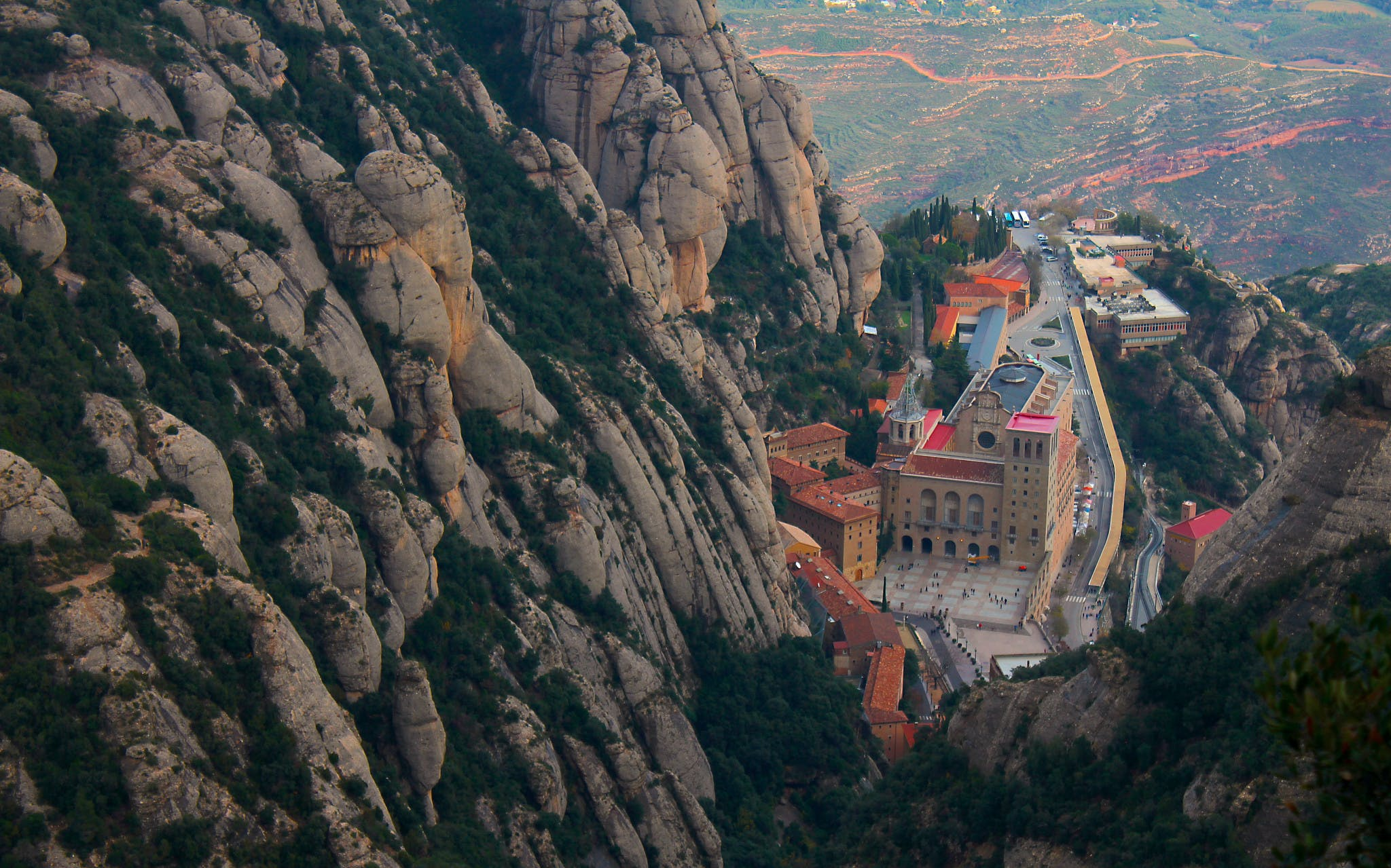 montserrat day out - all inclusive transportation pass from barcelona -1