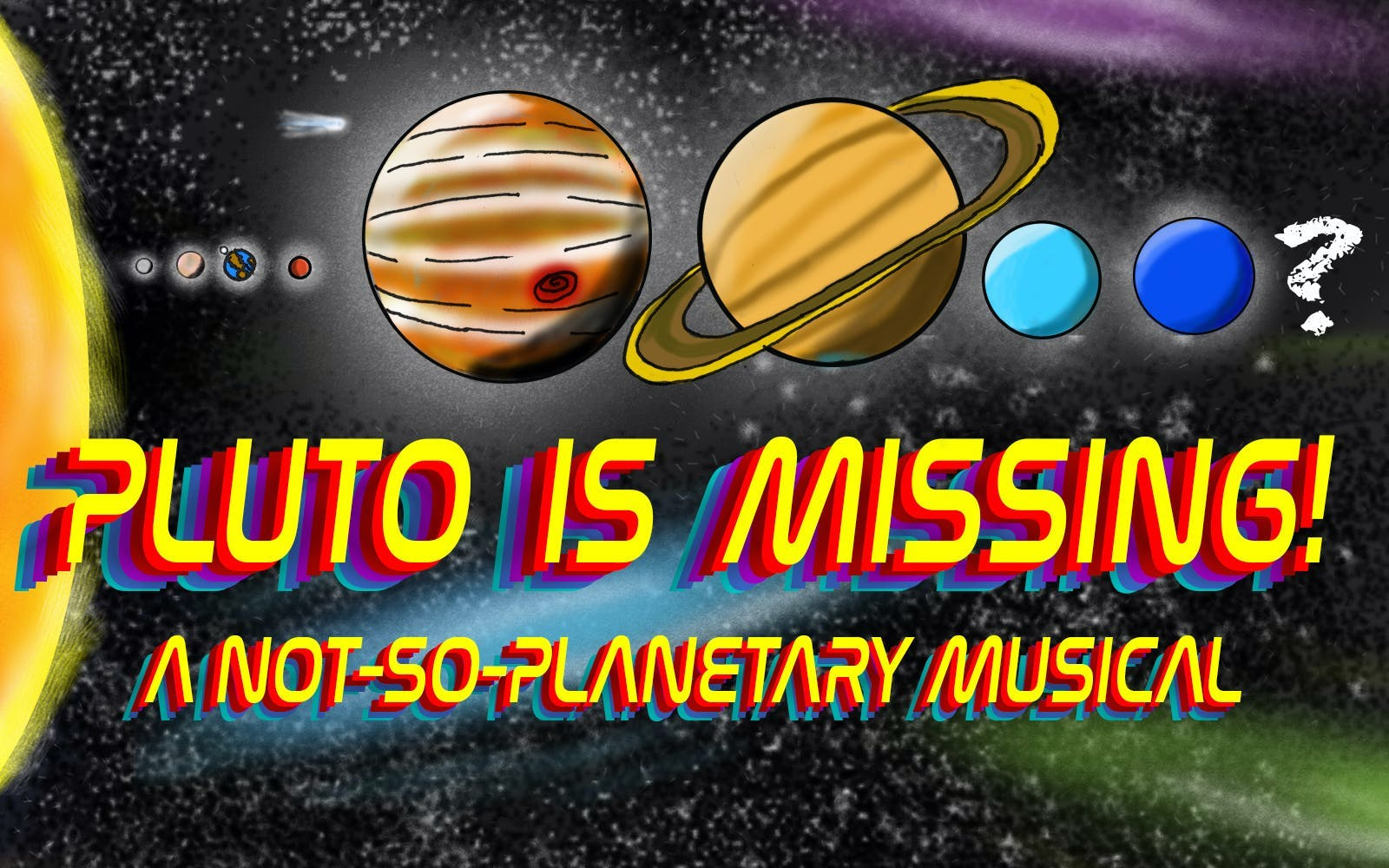 Pluto is Missing