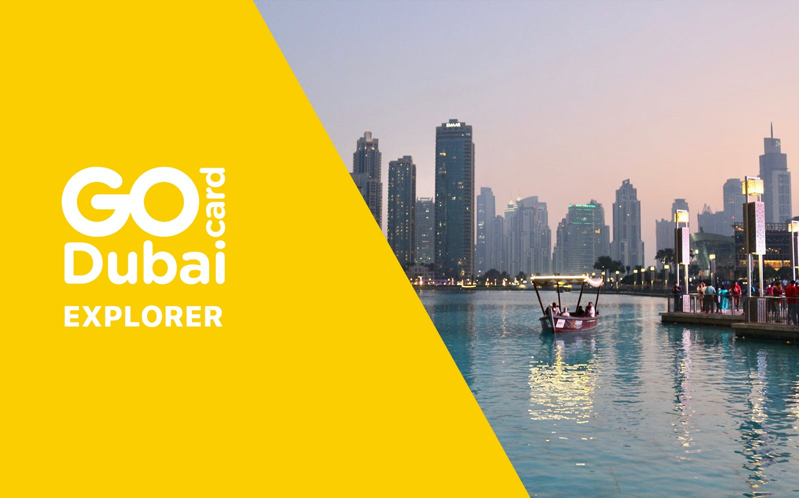 Go Dubai Explorer Pass - Choose 3,4,5 or 7 Attractions
