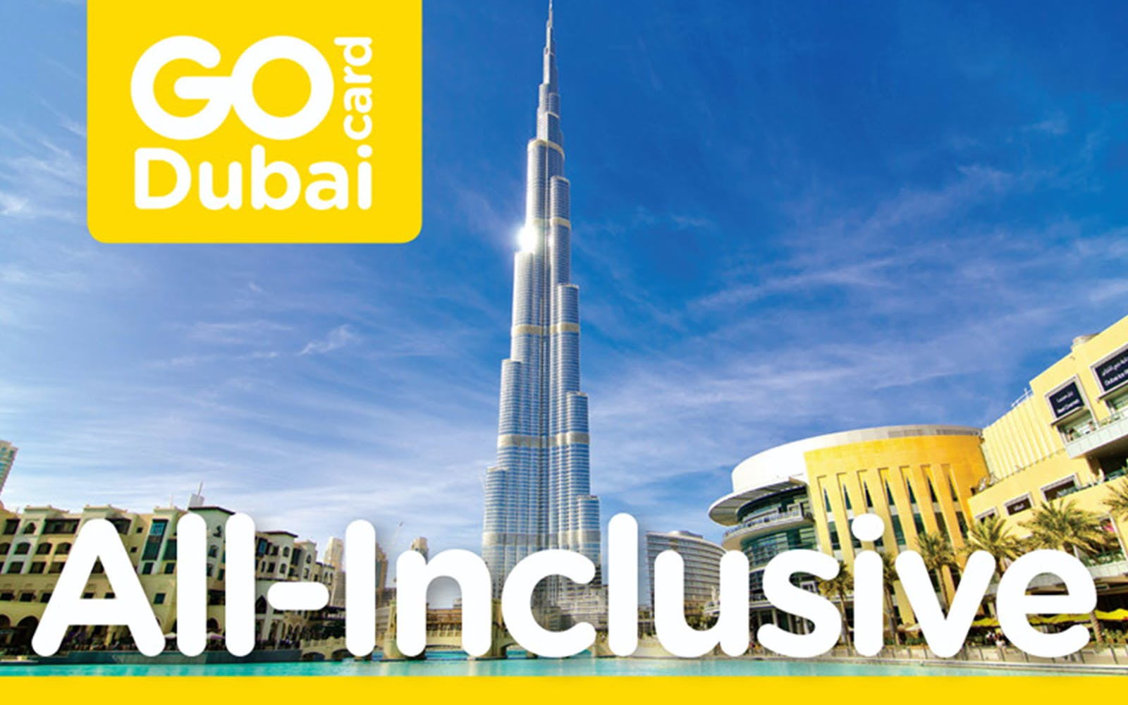 Go Dubai All Inclusive Pass
