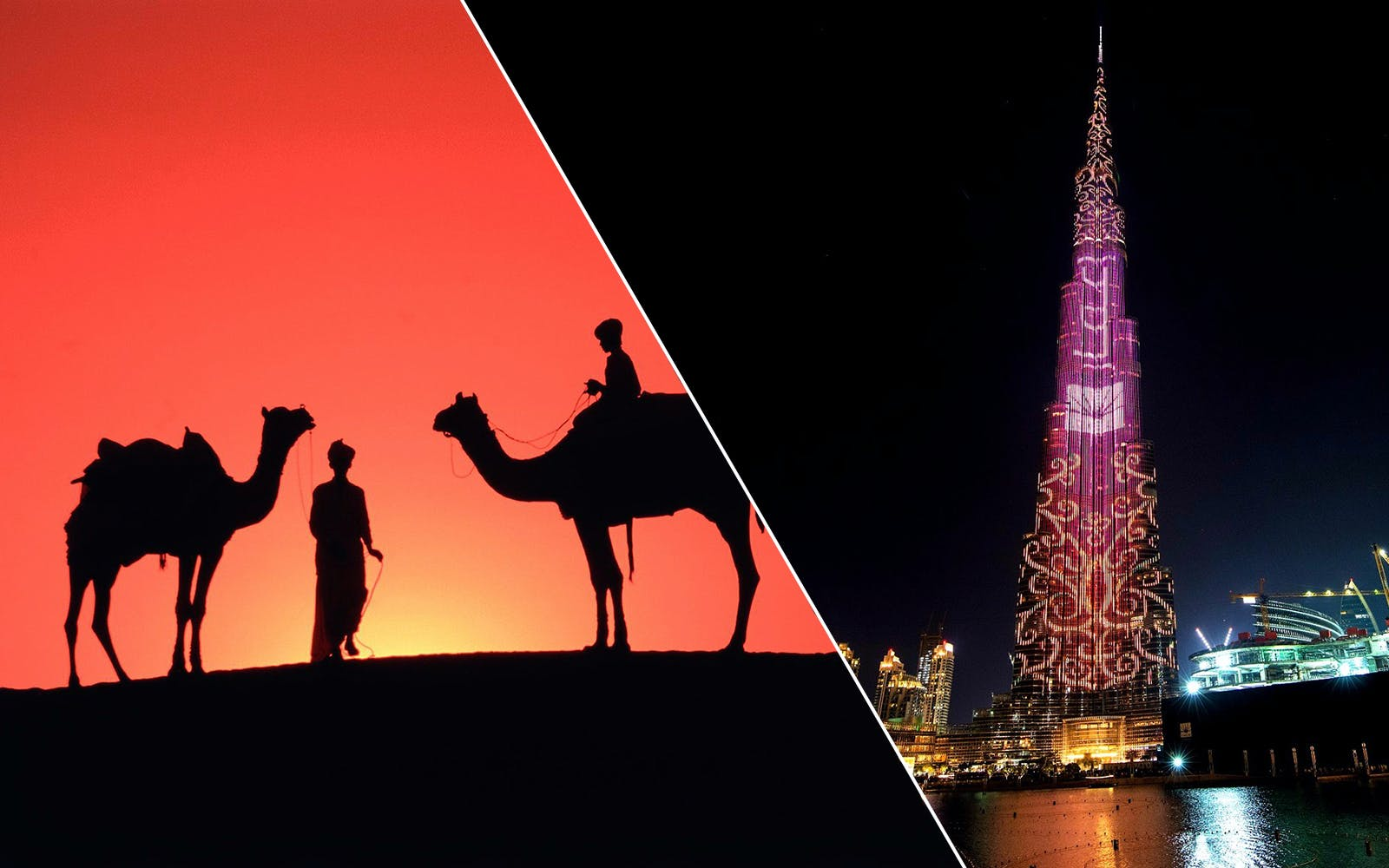 2 Day Combo: Burj Khalifa + Dubai Aquarium + Desert Safari + Dhow Dinner Cruise