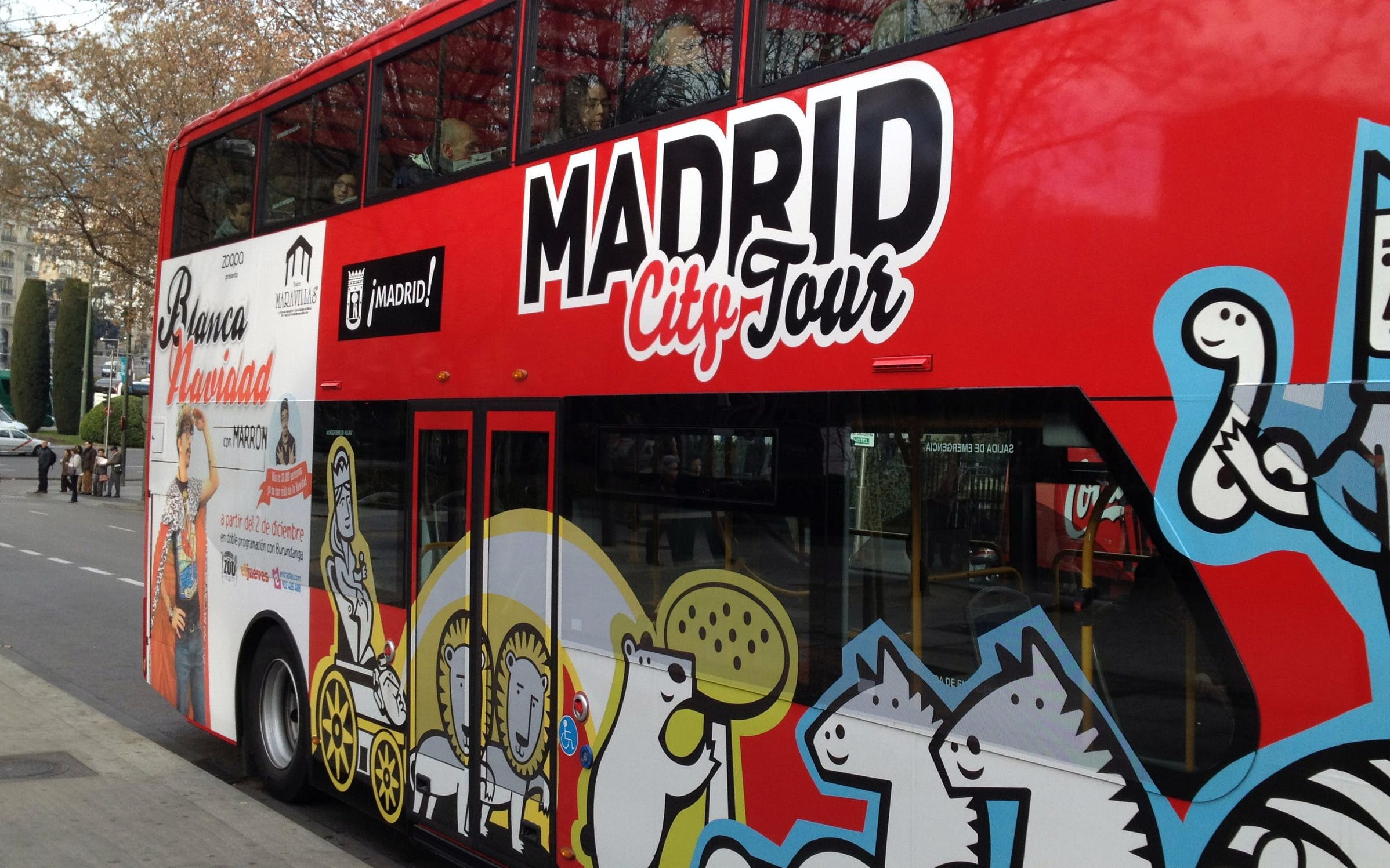 skip the line prado museum tickets & madrid hop on hop off city tour-2