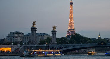 City of Lights: Paris After Dark Sightseeing Cruise