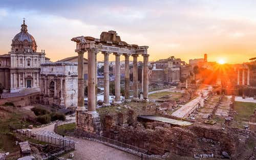 Roman Forum and Palantine Hill