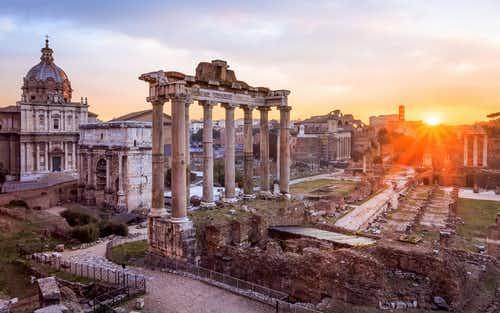 Roman Forum and Palantine Hill