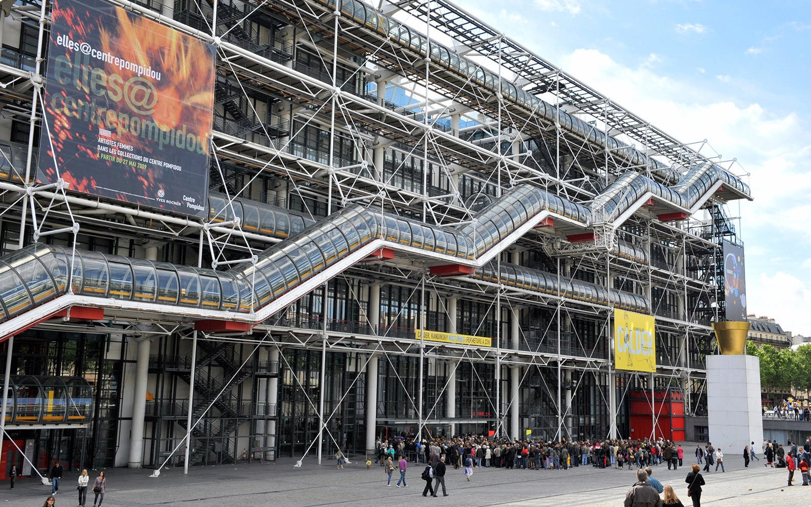centre pompidou: priority entrance-1