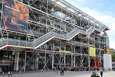 Best Museums in Paris - Centre Georges Pompidou - 1