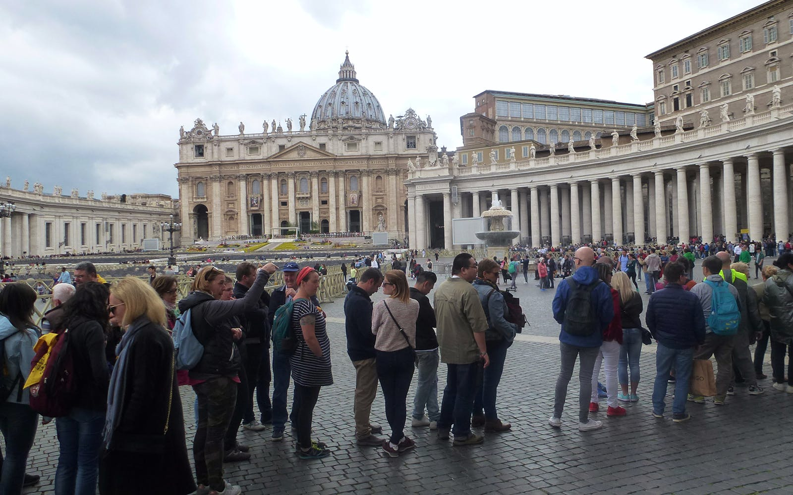skip the line: guided tour of st. peter's basilica -1