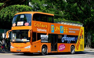 Singapore Hop On Hop Off Bus Tours