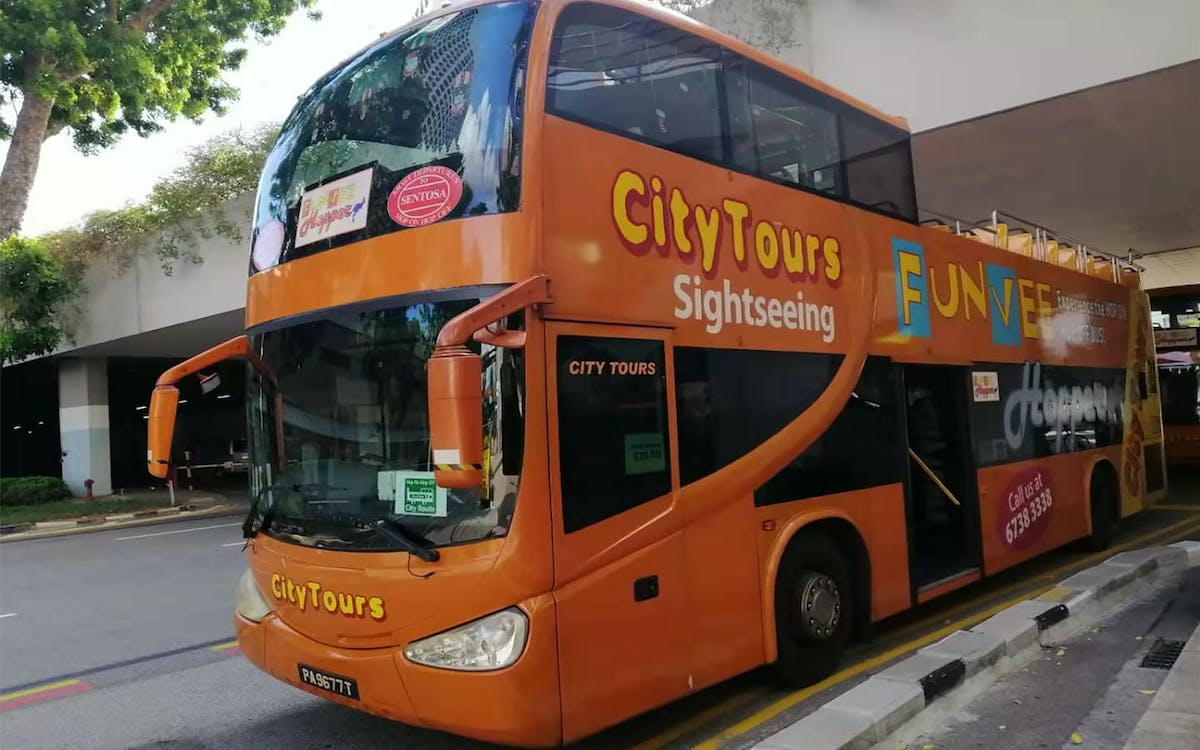 funvee singapore: 1 day hop-on-hop-off bus tour with optional tours-1