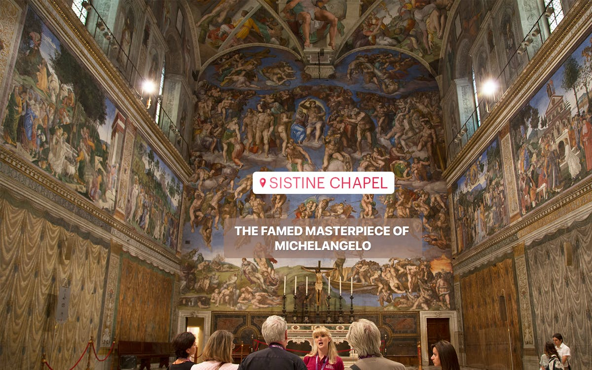 guided tour of the vatican museums, sistine chapel and st. peter's basilica-10