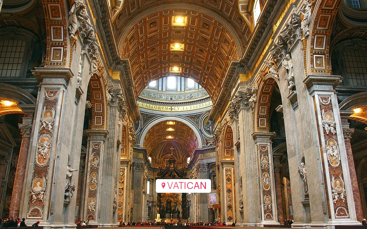 guided tour of the vatican museums, sistine chapel and st. peter's basilica-3