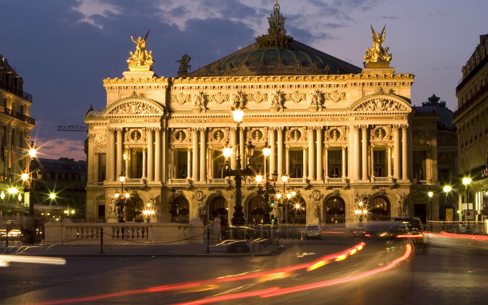 Self Guided Tour of the Opera Garnier