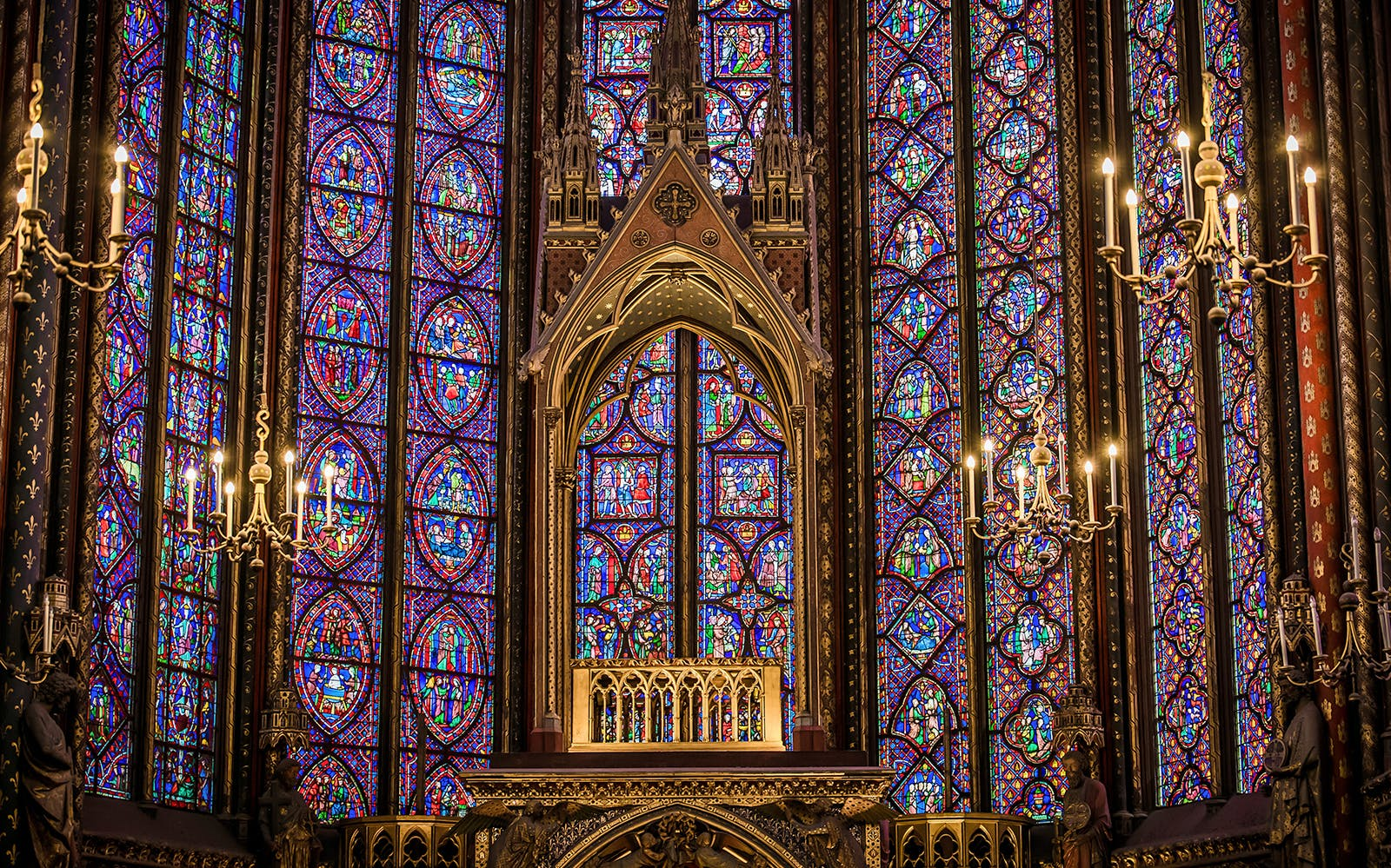 Billet coupe-file pour la Sainte-Chapelle