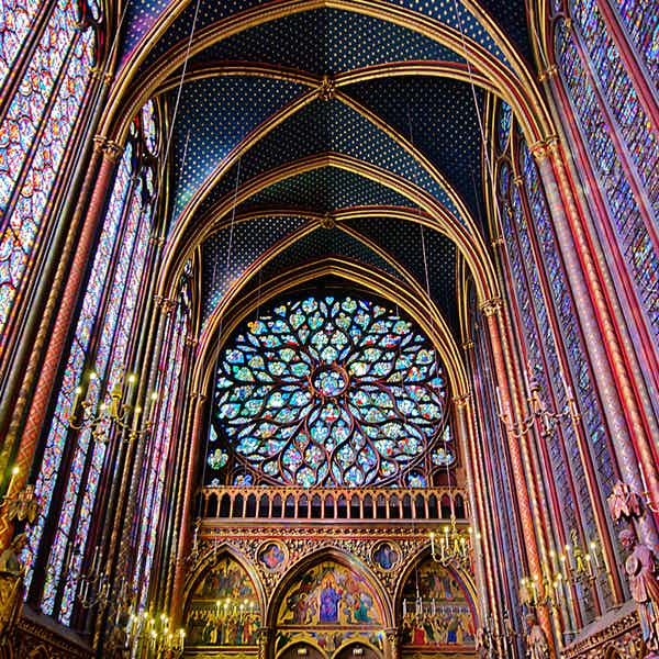 Sainte Chapelle Paris - Sainte Chapelle interior