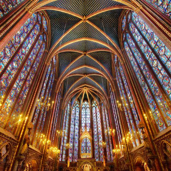 Sainte Chapelle Paris Tickets - Upper & Lower Chapels