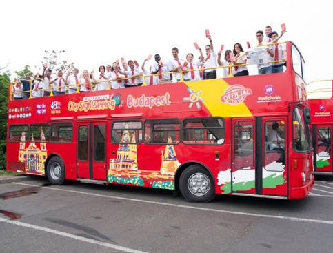 city sightseeing budapest - hop on hop off-1