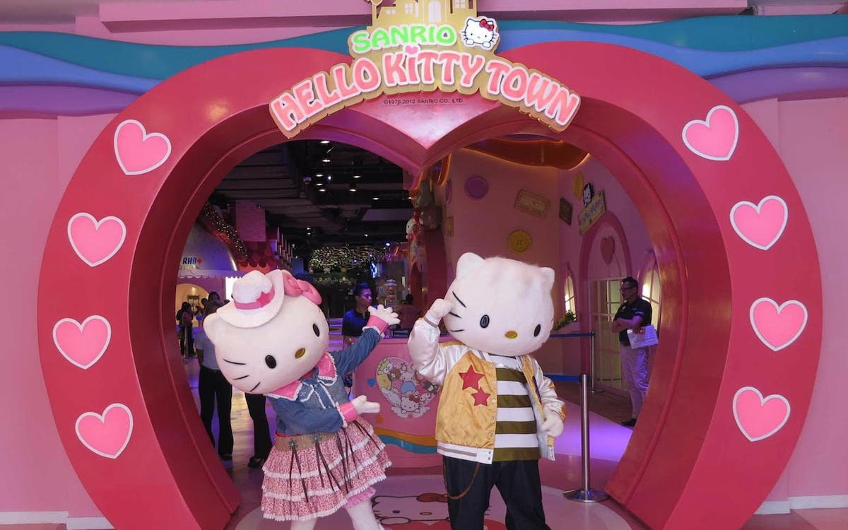 hello kitty town malaysia with 2 - way transfers-1