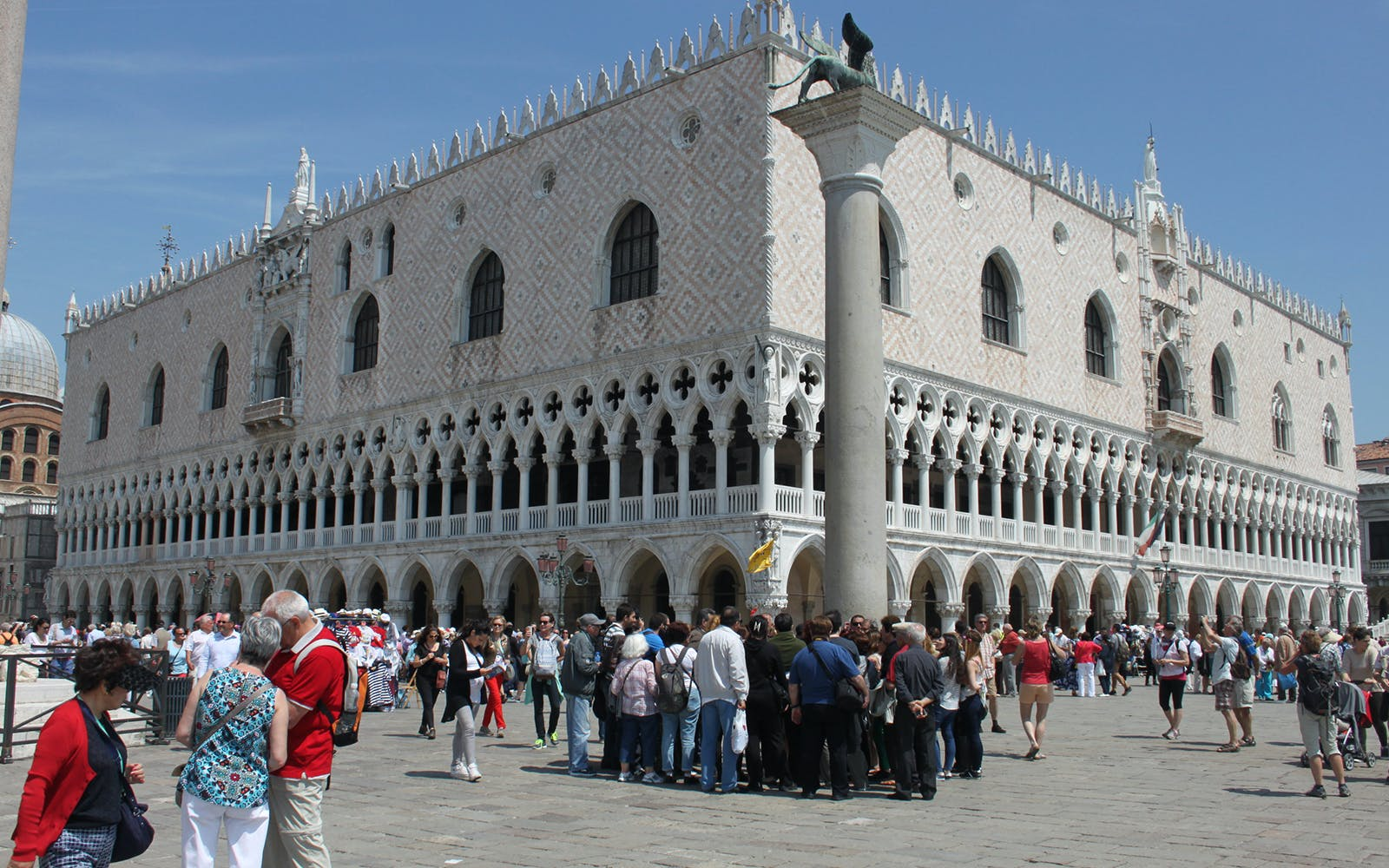 skip the line: guided tour of st. mark's basilica & doge's palace + the royal pa-4