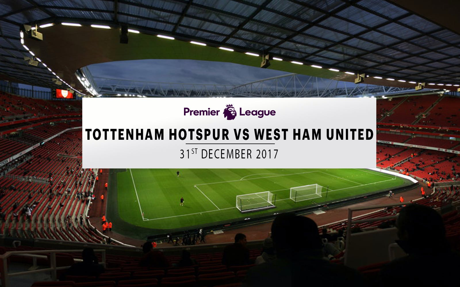 tottenham hotspur vs west ham united - 31st december 2017-1