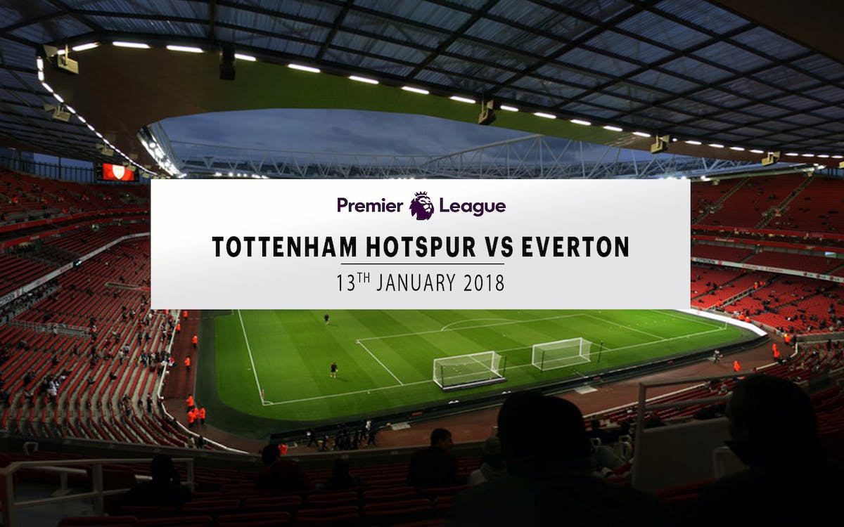 tottenham hotspur vs everton - 13th january 2018-1