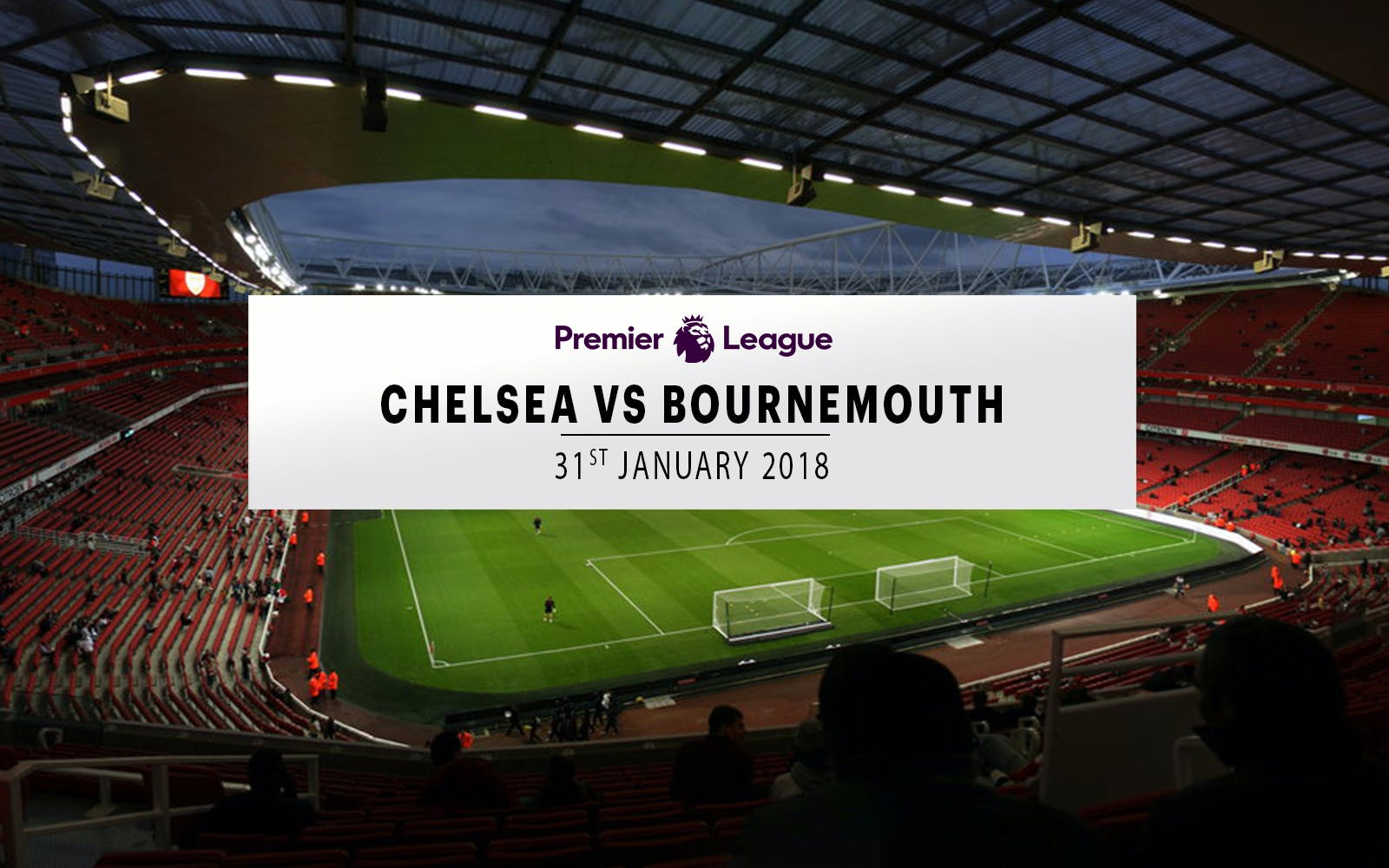 chelsea vs bournemouth - 31st january 2018-1