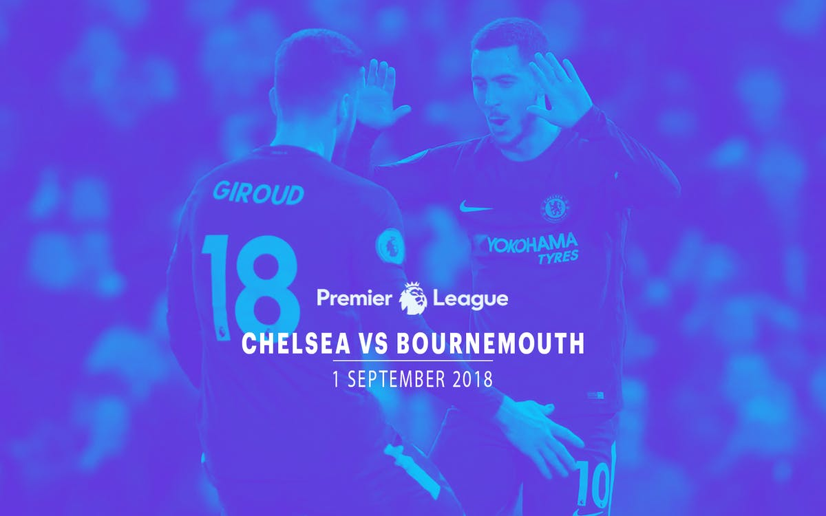chelsea vs bournemouth - 1st sept'18-1