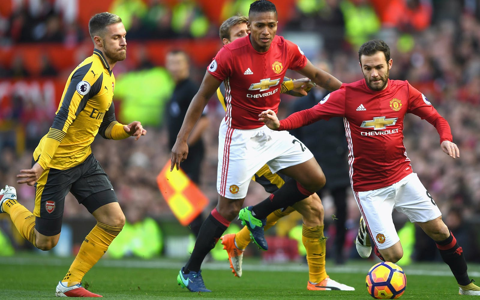 arsenal vs manchester united - 24th february 2018-3