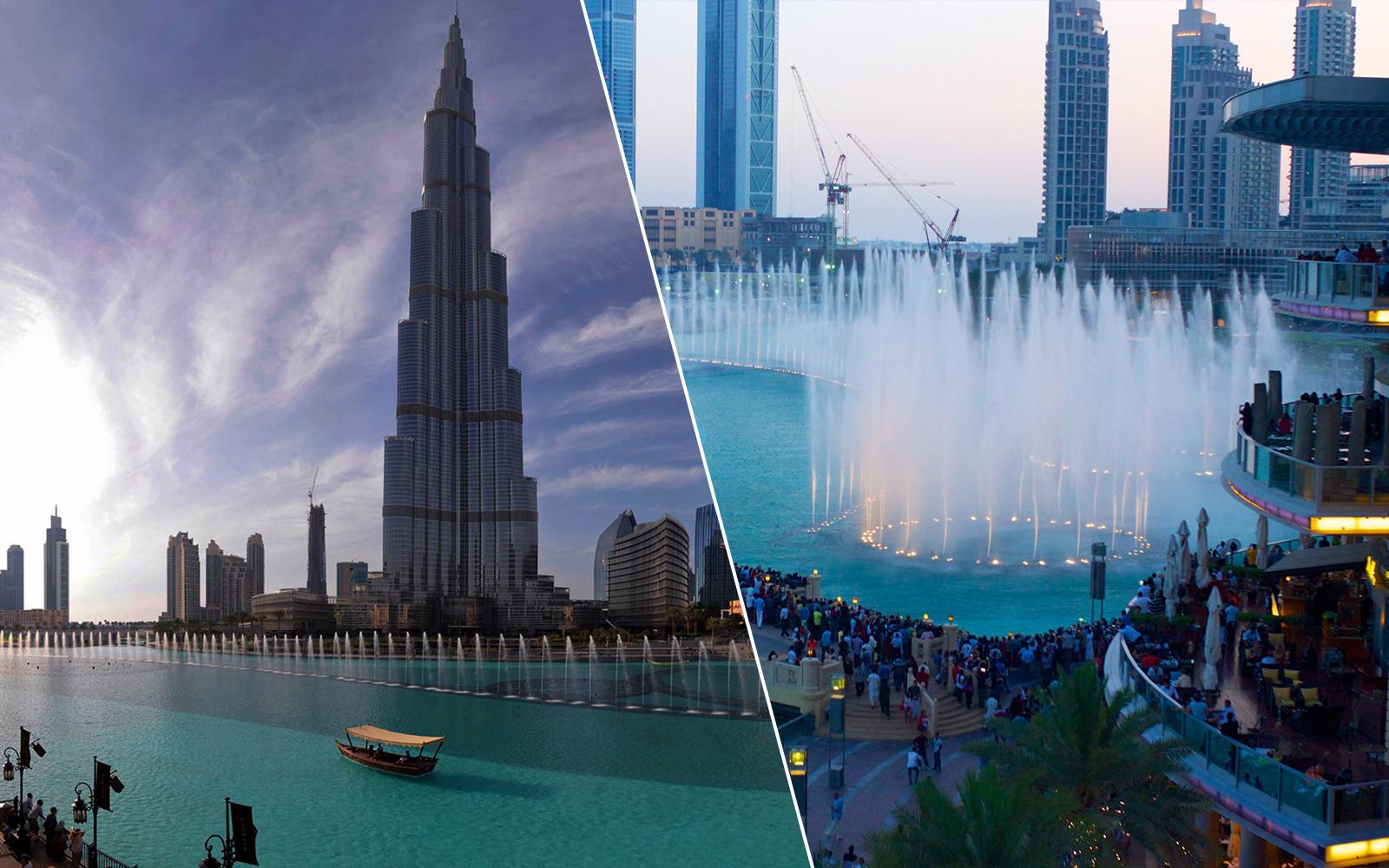 Burj Khalifa And Dubai Aquarium Ticket Combo Discounted