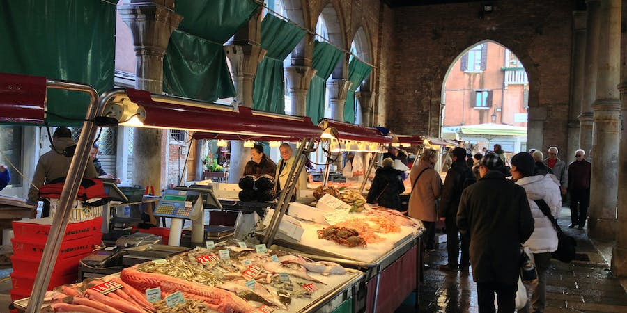 Venice in August - Rialto Food Tour