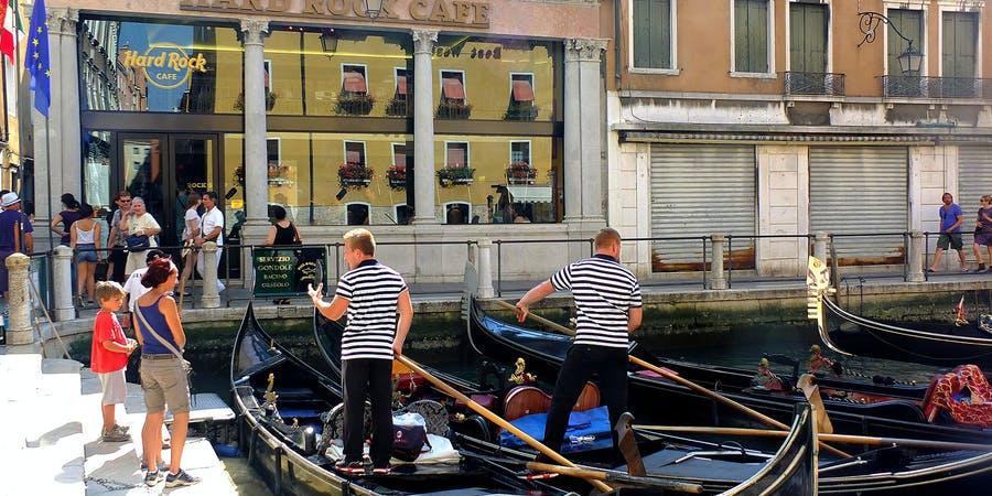 Venice in November - Hard rock Cafe