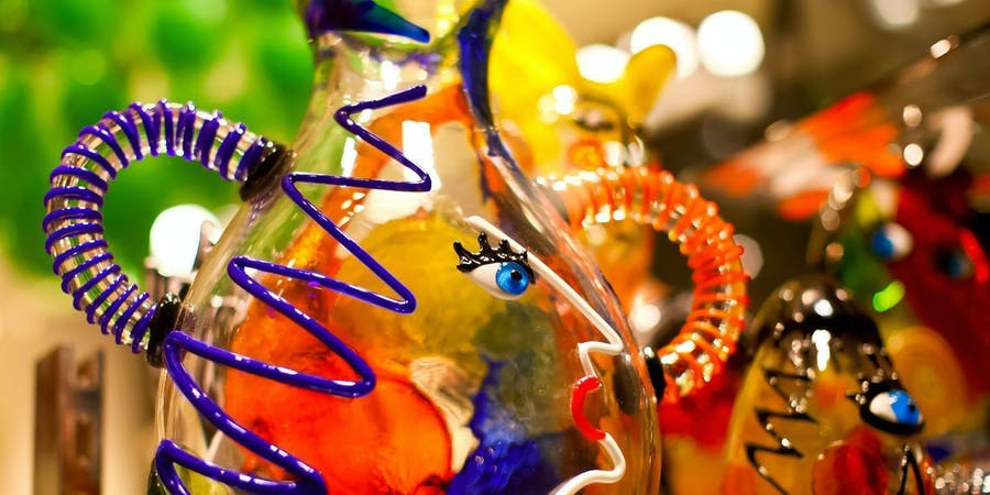 Venice in May - Art of Glassblowing