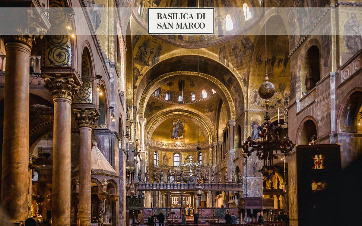 guided tour of st. marks basilica with walking tour of venice-1