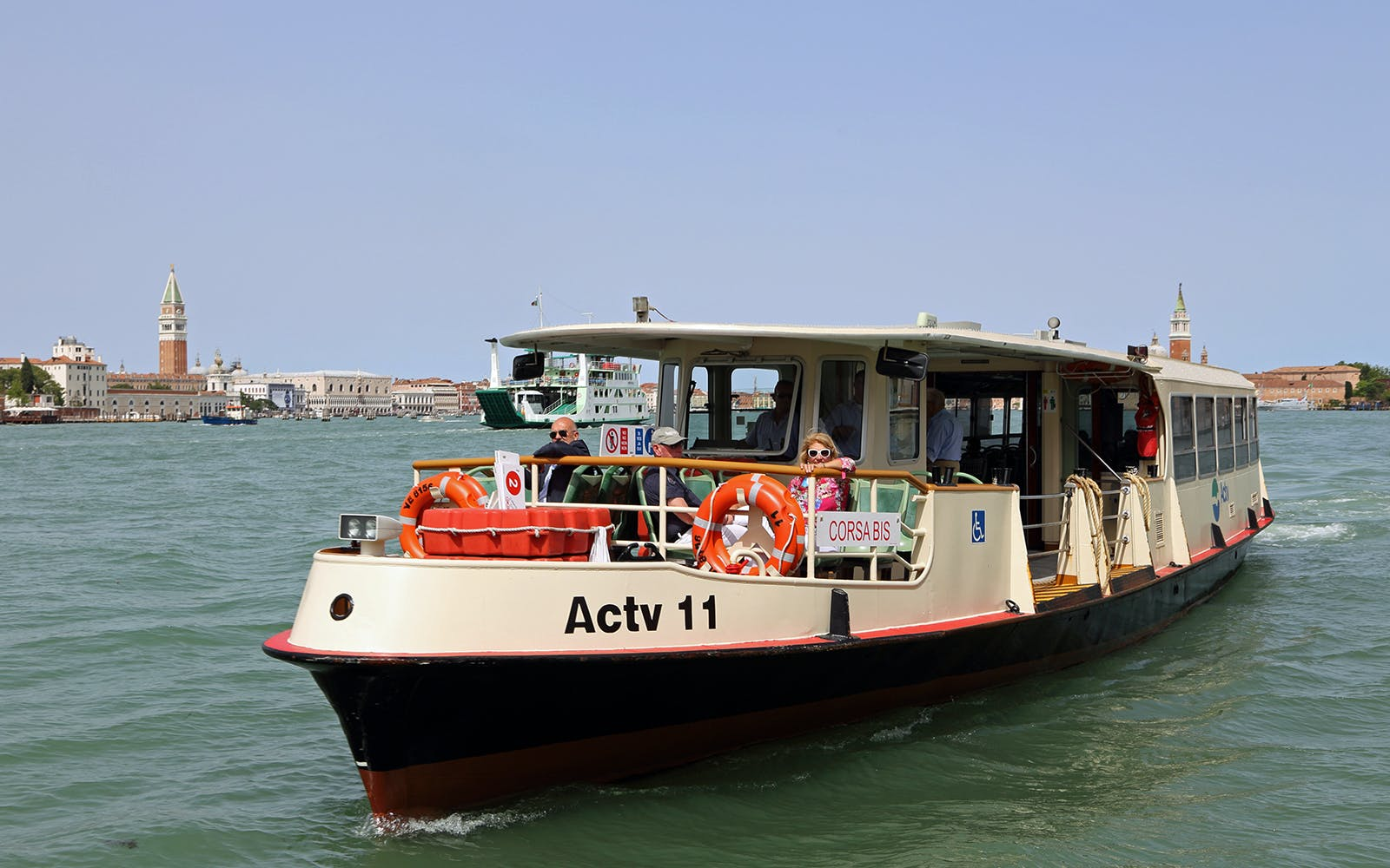 Venice Public Transportation ACTV Water Bus Pass